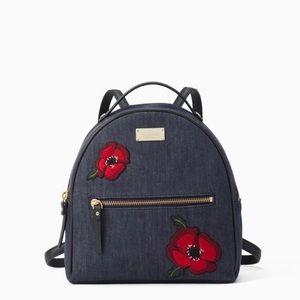 Kate Spade Sammi Grove Street Poppy Small Backpack